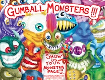 Photo of GUMBALL MONSTERS: A monster worth believing in.