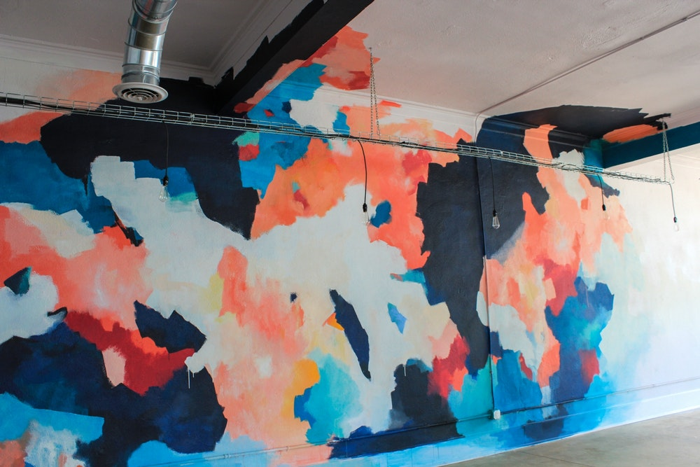 Audrey Ferris - Abstract Mural: Expansion - ArtPrize Entry Profile - A  radically open art contest, Grand Rapids Michigan
