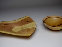 Photo of A SELECTION OF WOODTURNINGS
